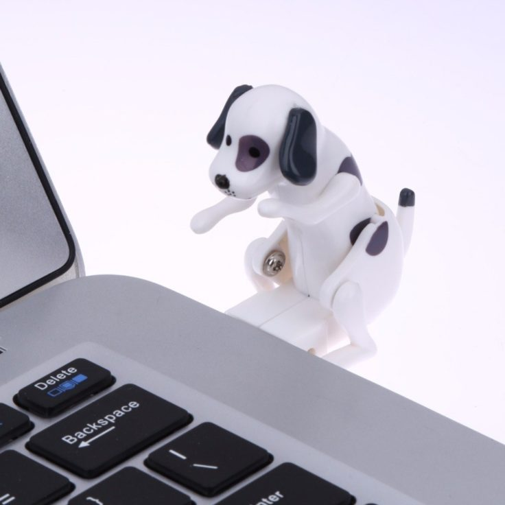 Humping Dog USB Stick weiß
