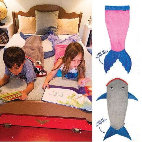 Kids-Boys-Girls-Mermaid-Tail-Wrap-Soft-Fleece-Blanket-Sleepers-Bed-snuggle-in-Sleeping-Bag-Cute (1)