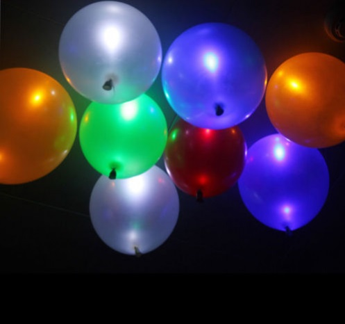 led luftballons leuchtend