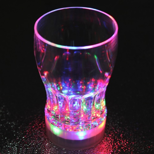 led shots leuchtende gläser