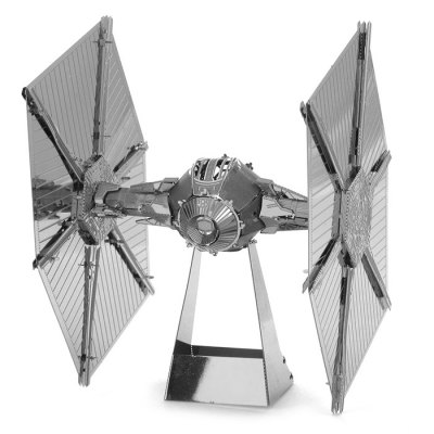 3D Star Wars Metall Puzzle Tie Fighter Klein