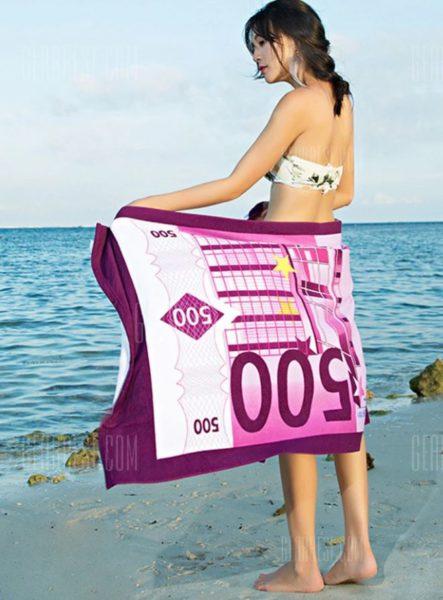 Geldschein-Handtuch