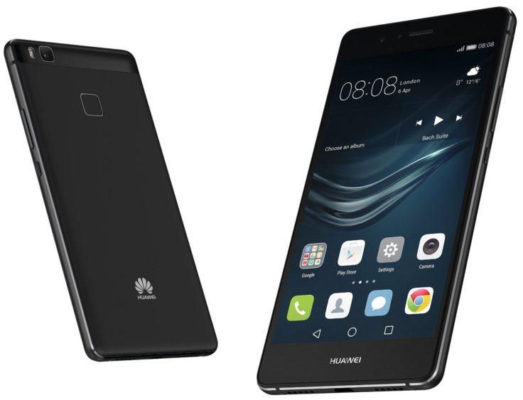 Huawei P9 Lite Vor- und Rückseite