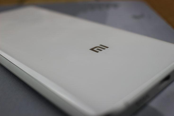 Xiaomi Mi5 Rückseite aus 3D-Glas