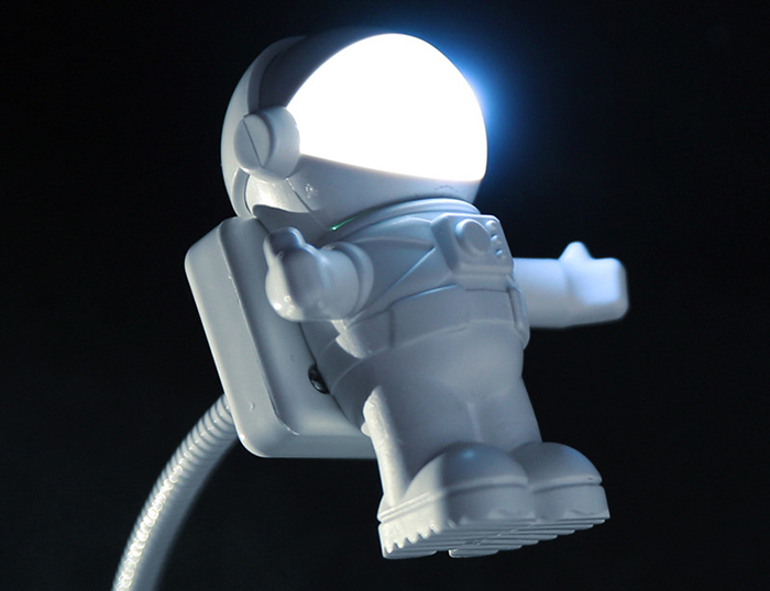 astronaut led