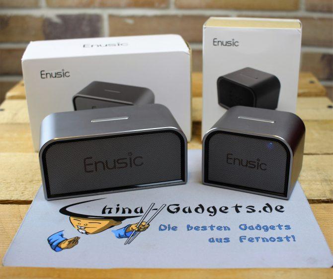 enusic 001 & 003 mit Verpackung