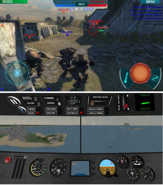 Xiaomi Mi 5 Screenshots von WWR & Airplane Pilot 3D