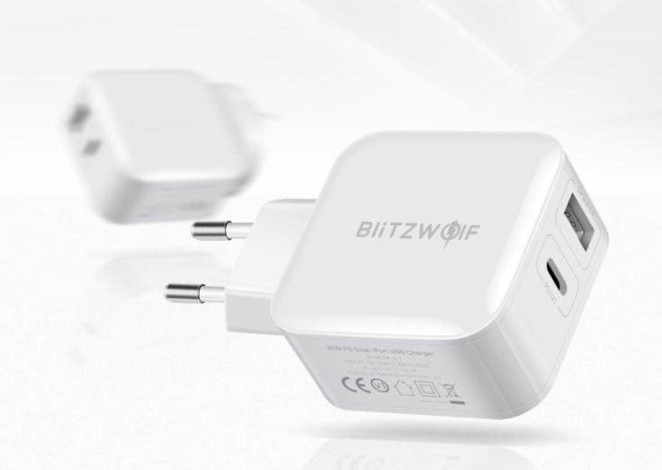Blitzwolf USB Typ-C Ladegeraet