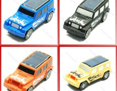 4 Farben Solar Autos