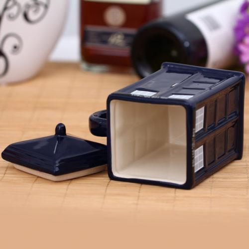 TARDIS Kaffeebecher Innenraum