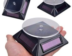 Free-Shipping-Solar-Power-360-Rotating-Display-Stand-Turn-Table-Plate-For-Phone-Watch-Jewelry-3