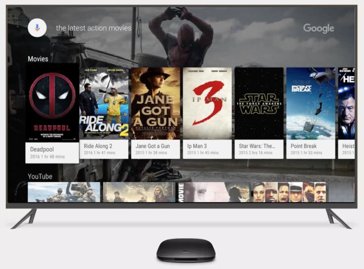 Android TV mit der Xiaomi Mi 4K TV-Box