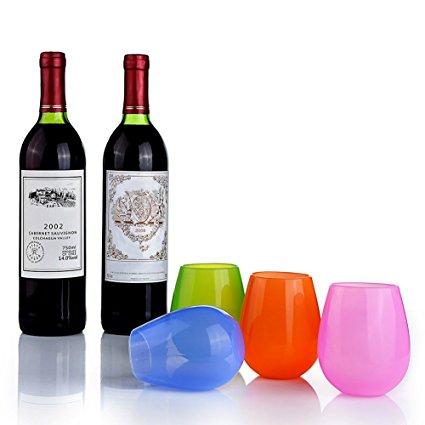 Silikon Weinglas