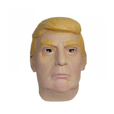 trump-clinton-maske