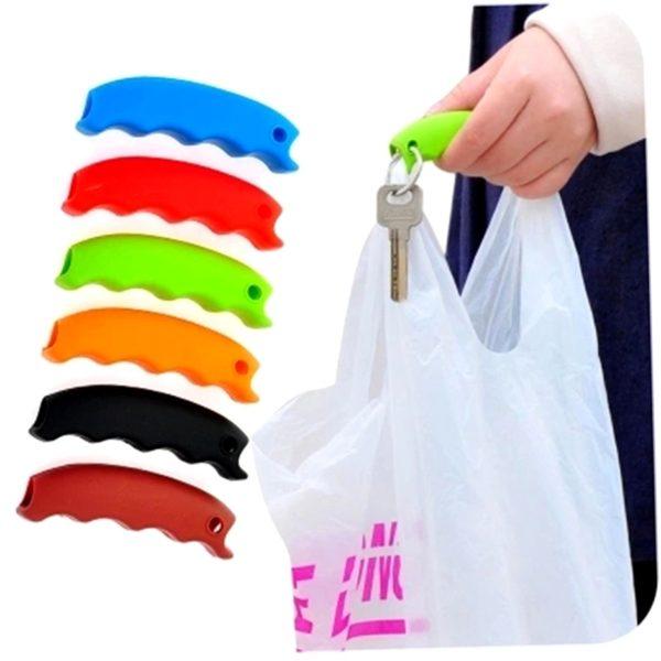 Silikongriff Tragehilfe für Plastiktüten