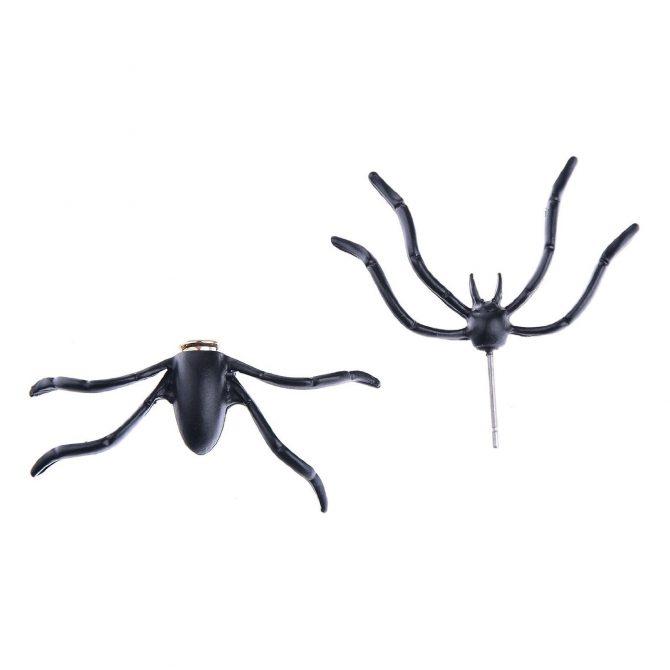 spinnen ohrring (1)