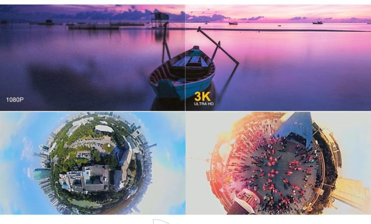 Der Fish-Eye Look mit der Insta360 Nano Cam