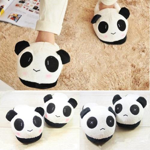 Panda pantoffel