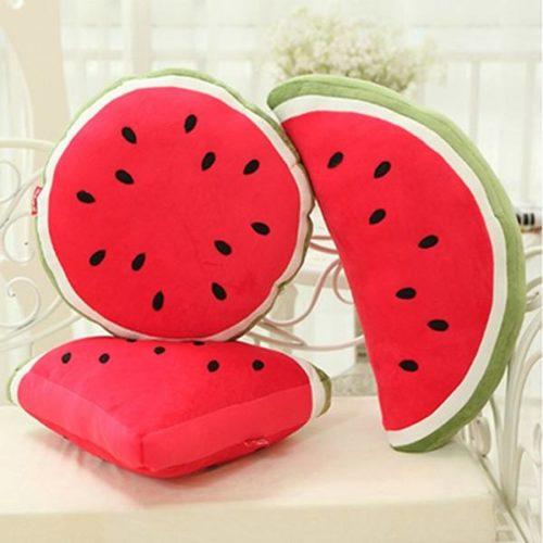 Süße-Kissen-Deko-Melonen-Obst-Frucht-Sommer