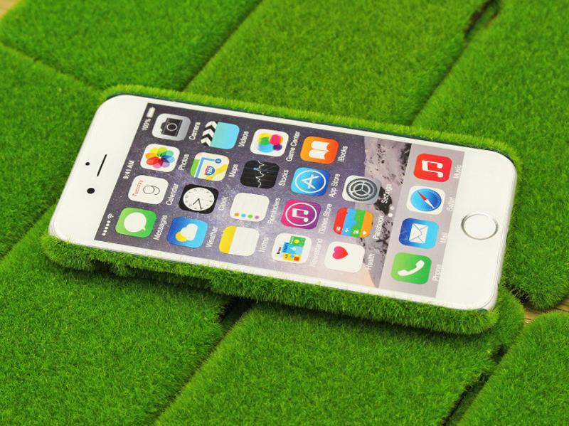 verlier dein handy besser nicht gras cover f r iphones f r 3 67 china gadgets. Black Bedroom Furniture Sets. Home Design Ideas