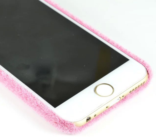 Gras Cover Pink für iPhone 6