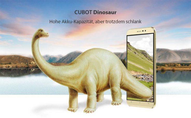 Cubot Dinosaur Smartphone Maße