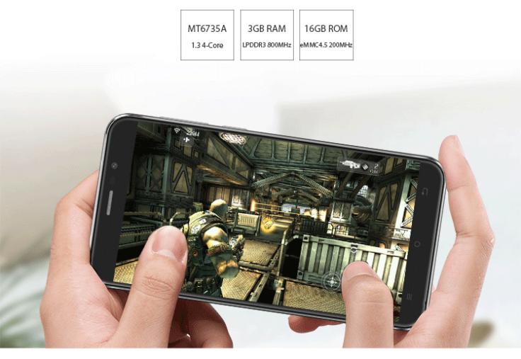 Cubot Dinosaur Smartphone Leistung