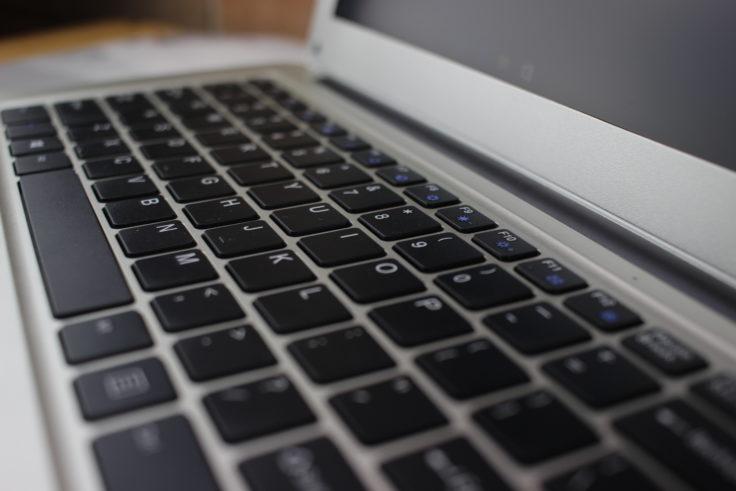 Jumper Ezbook 2 Tastatur: keine Tastaturbeleuchtung