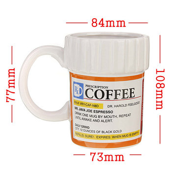 Verschreibungspflichter Kaffeebecher Maße