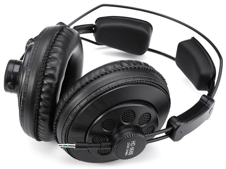 Superlux HD668B Stereo-Kopfhörer Struktur