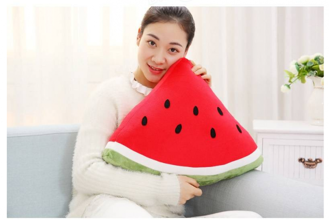 watermelon kissen