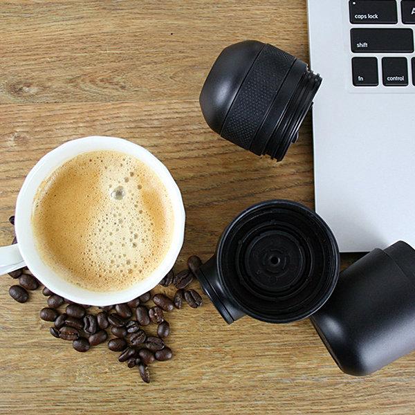 Honana Espressomaschine mit gefüllter Tasse