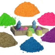 Moon Sand und Kinetic Sand