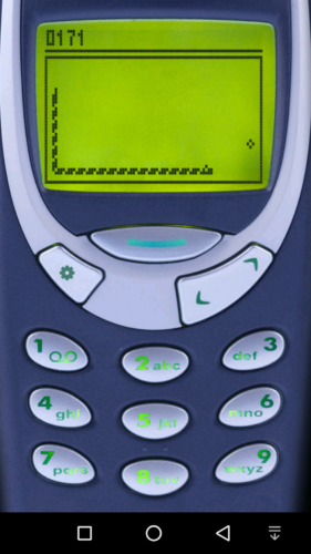 Screenshot Snake 97 auf dem Apollo Lite