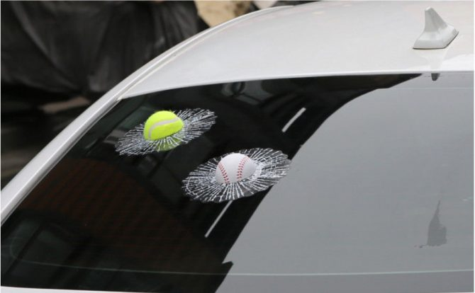 tennisball sticker