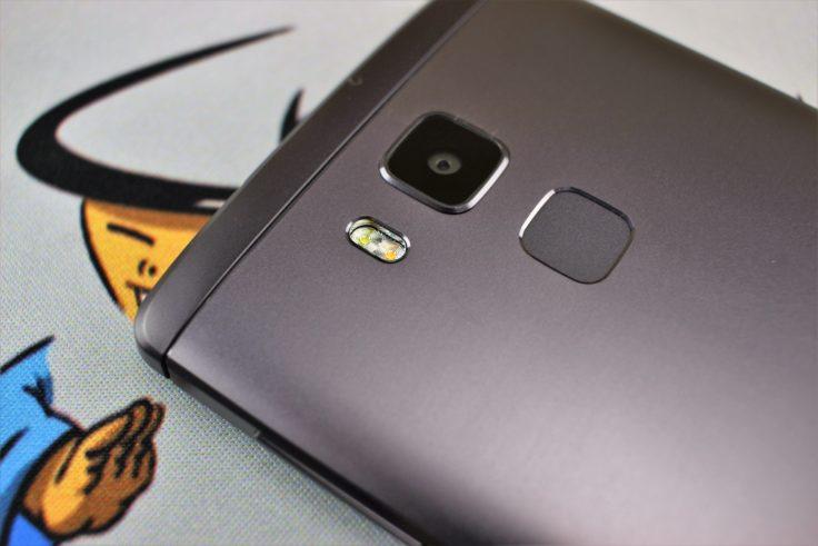 Vernee Apollo Lite Dual-Blitz und Samsung-Kamera
