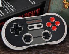 8Bitdo Bluetooth Gamepad rund