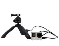 Fotopro Mini-Stativ samt Powerbank für Smartphone/DSLR/GoPro für 15,84€