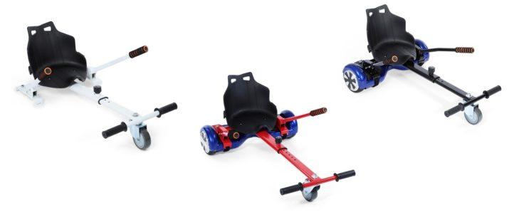 Hoverboard Sitz Farben