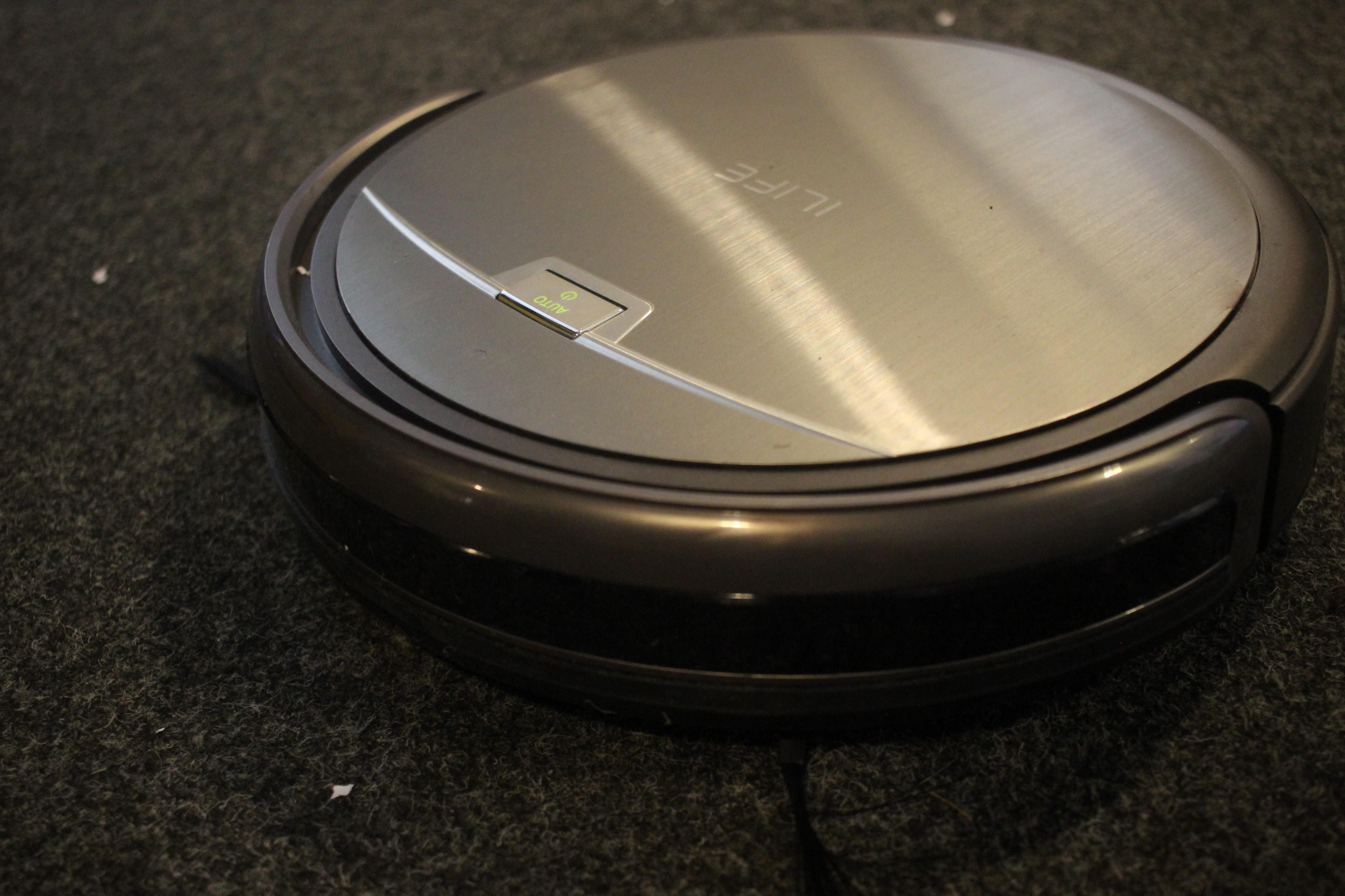 ILIFE A4S Smart Saugroboter Staubsauger Kabellos Vakuum Reinigung Fernbedienung