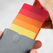 Kreditkarten Etui Canvas
