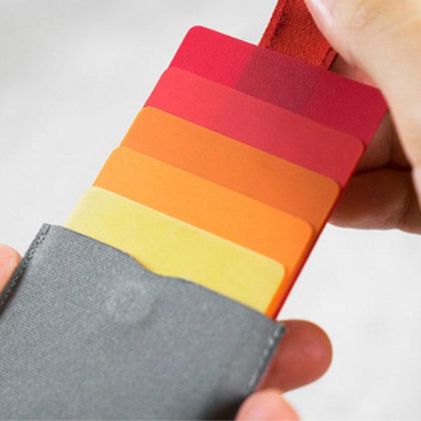 Kreditkarten-Etui Geldbörse Canvas