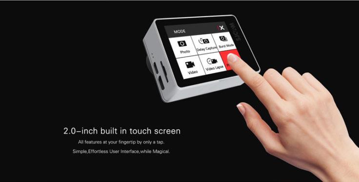 4K-Actioncam SJCAM SJ7 Touchscreen