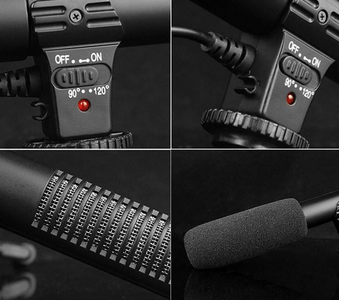 sidande mic-01 Kamera-Mikrofon Pick-Up-Muster