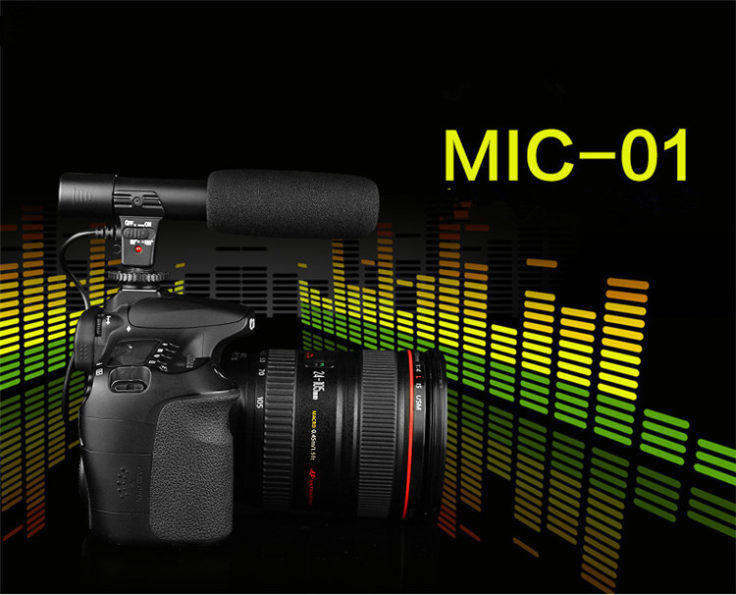 sidande mic-01 Kamera-Mikrofon Halterung