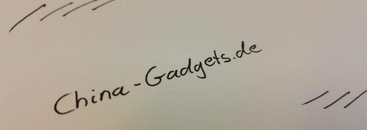 Xiaomi Mi Home Kugelschreiber Schreibprobe