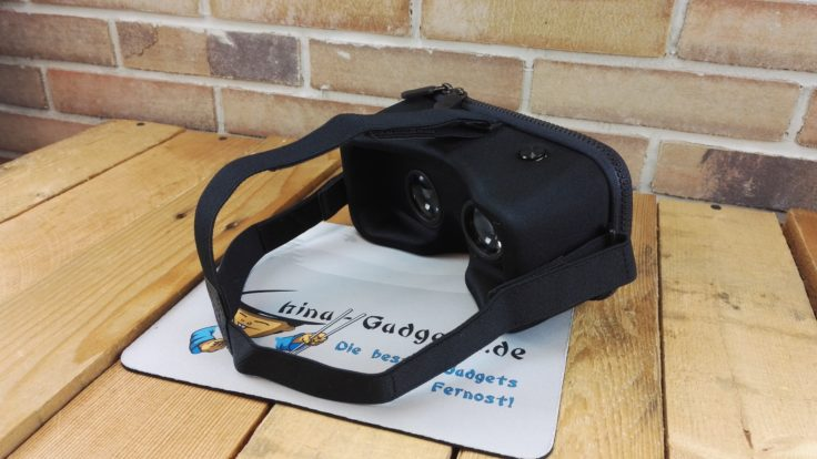 längenverstellbare Bänder der Xiaomi VR Brille