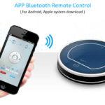 ILIFE V7S Saugroboter Steuerung über App und Bluetooth