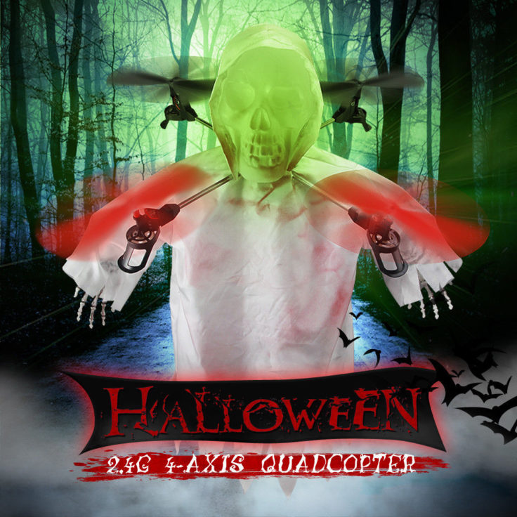 "Halloween Quadcopter RC Drohne ""Azrael"""