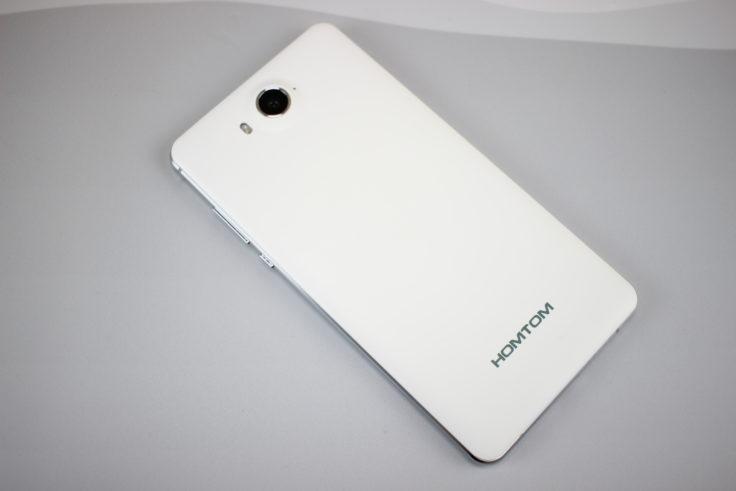 Homtom HT10 Smartphone Rückseite
